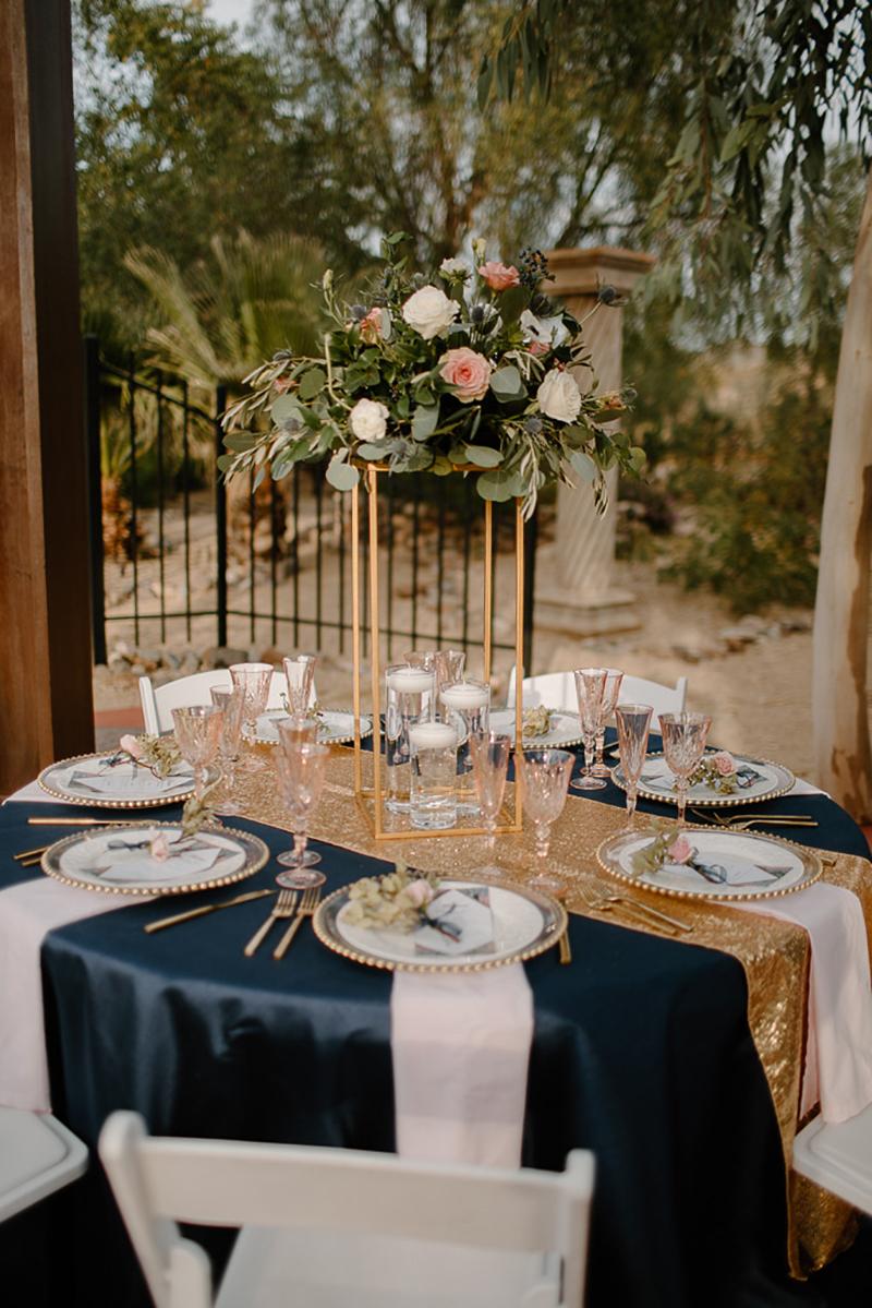 Elegant Wedding Decor Arizona